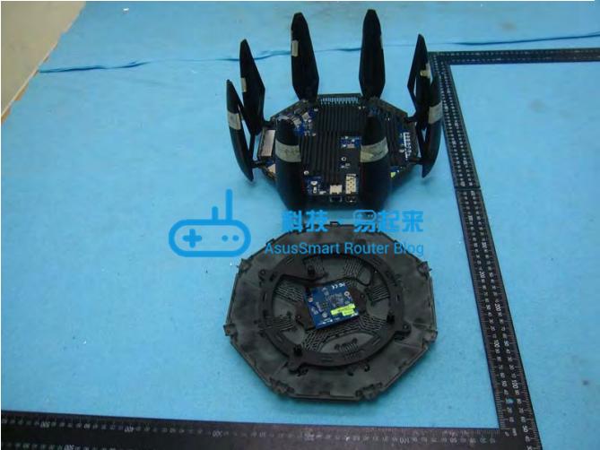 ASUS GT-AC9600 内部拆解