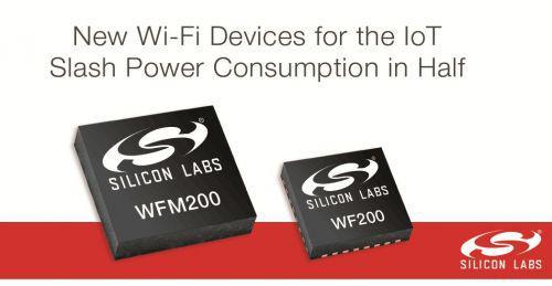 功耗减半!Silicon为IoT推出新型WiFi模块