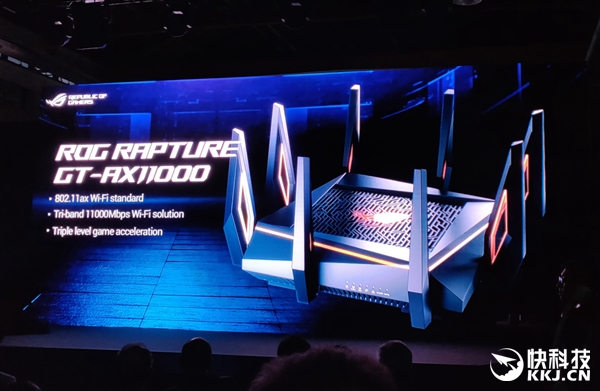 华硕发布世界最快路由器GT-AX11000!首款万兆路由