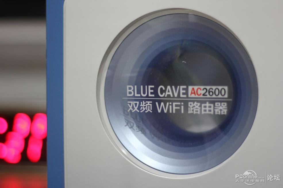 """华硕 Blue Cave时尚宜家路由器:有颜值有实力的""""洗衣机""""路由"""