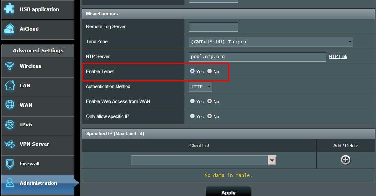 为何我透过Telnet方式联机进入我的Router时,却无法正常显示或响应?