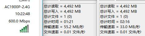 2.4G speed