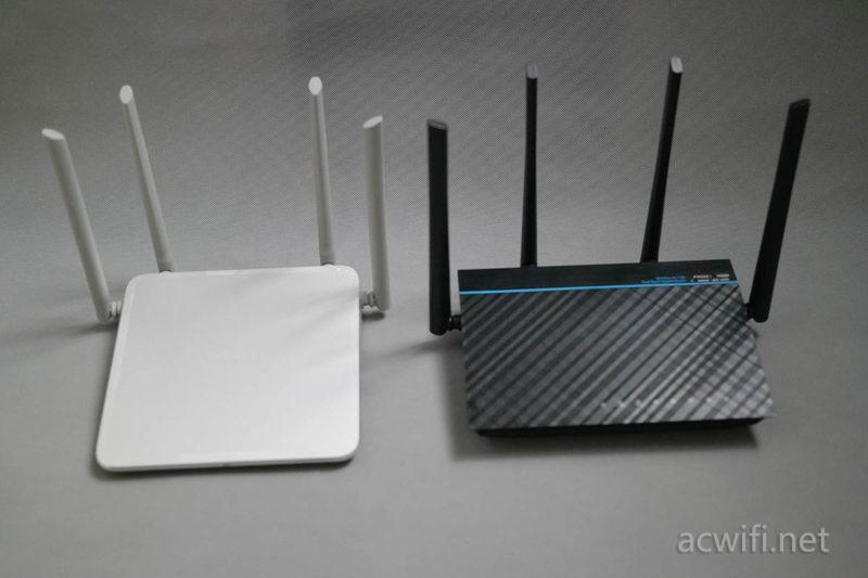 转载:斐讯K2P对比华硕ACRH17手机上网速度