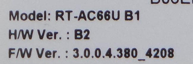 转载:华硕AC66U B1与华硕ACRH17对比测试