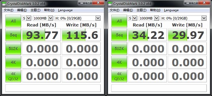 华硕RT-AC87U路由器USB接口速率测试