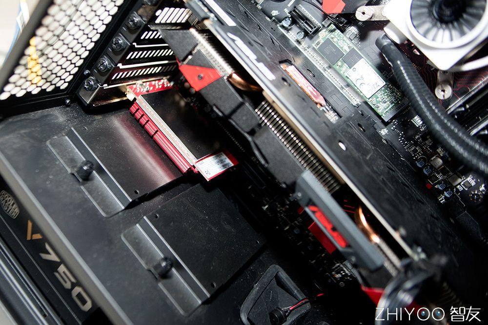跑得比网线还快,顶配无线网卡华硕PCE AC88拆机。]