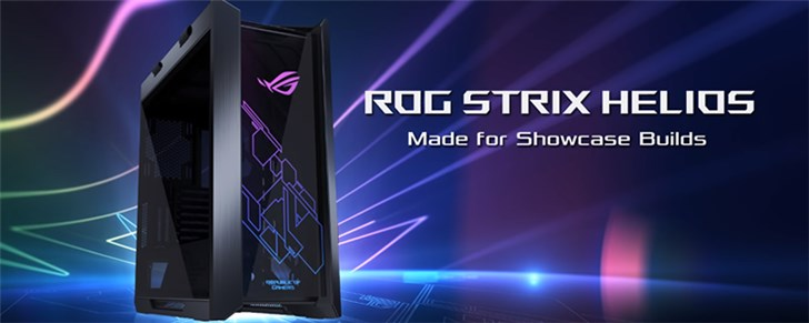 华硕发布ROG品牌机箱:RGB败家之眼LOGO,1999元