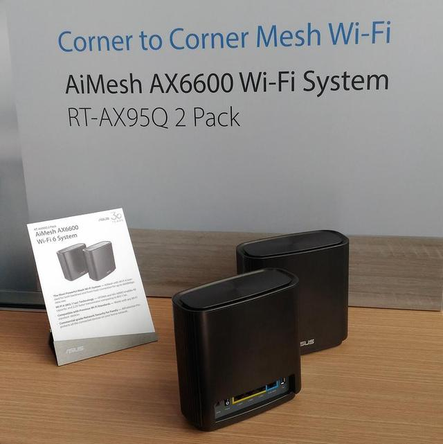 开启COMPUTEX 2019 ,华硕推出RT-AX95Q三频Mesh路由