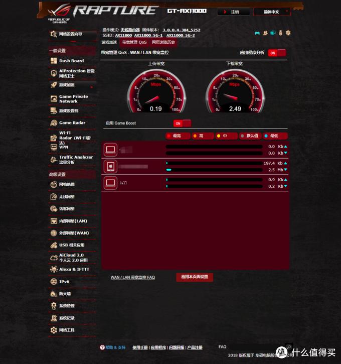 一款近5K元的路由器到底哪里好?华硕GT-AX11000电竞路由器测评