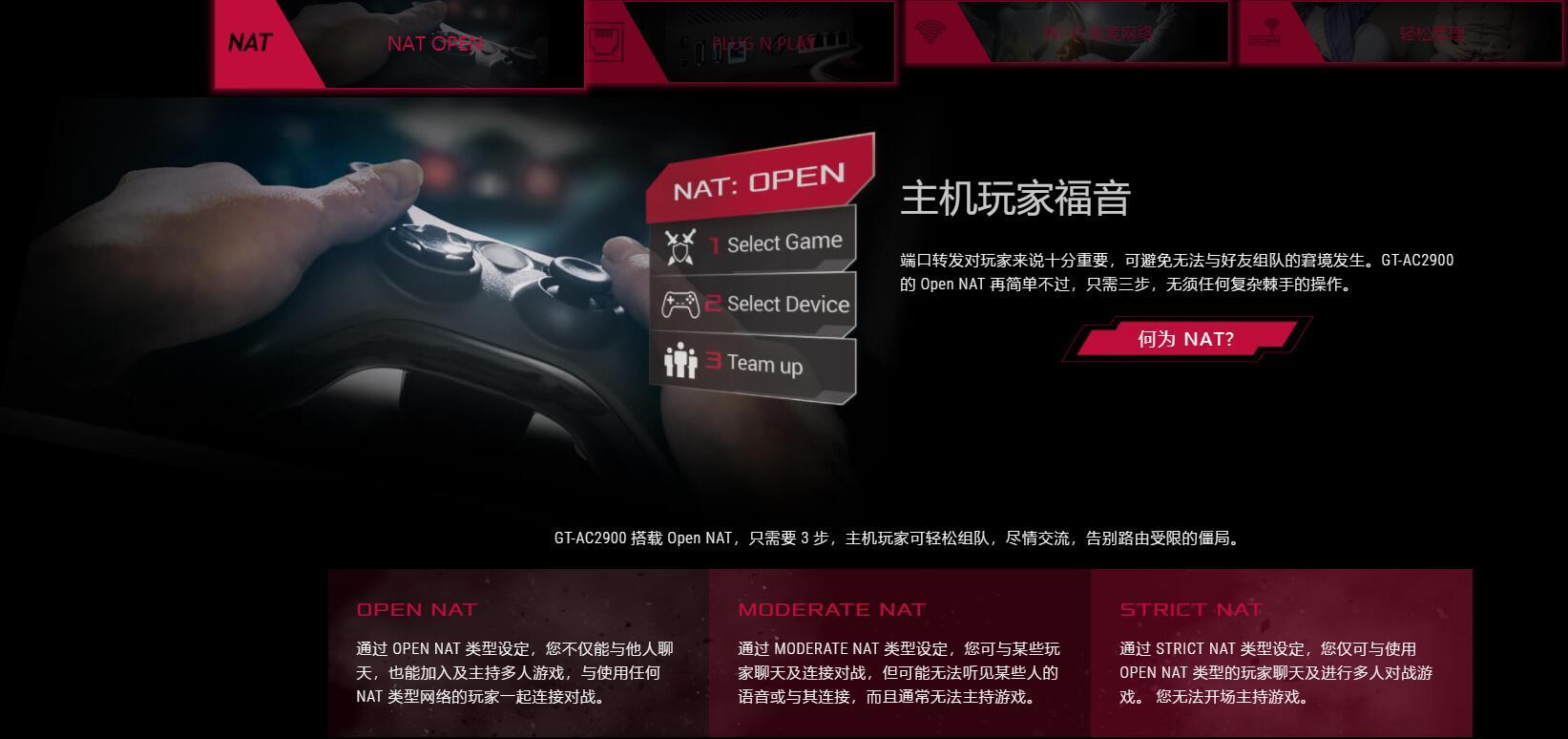 GT-AC2900 搭载 Open NAT
