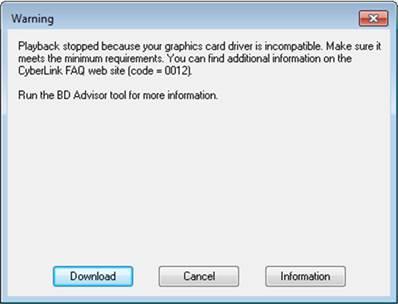 PowerDVD16 在Windows 7 64bit下无法正常使用