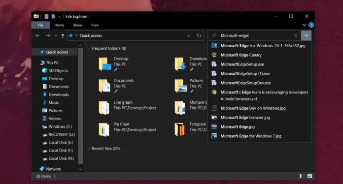微软发布Windows 10 KB4532695更新:修复了文件管理器搜索功能