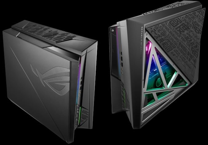 华硕ROG推新款豪华主机:i9+RTX 2080,磁吸板开盖散热