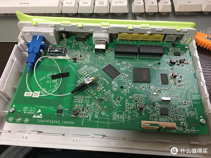 电信乐享家200M宽带初体验及中兴F450G光猫拆解