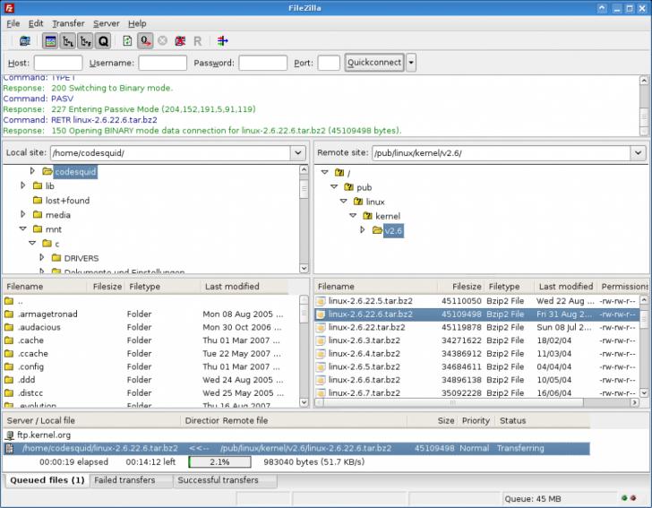 跨平台FTP 客户端 FileZilla Client 3.47.2.1 发布