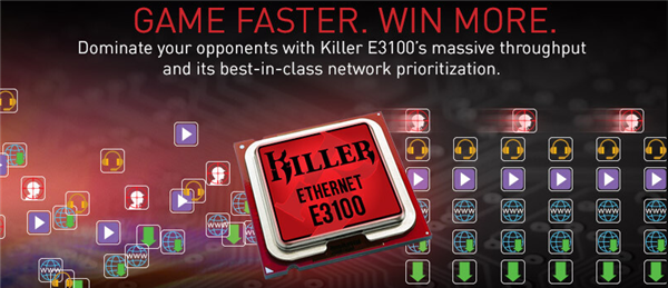 火箭进入2500Mbps网络时代 Rivet发布Killer E3100网卡