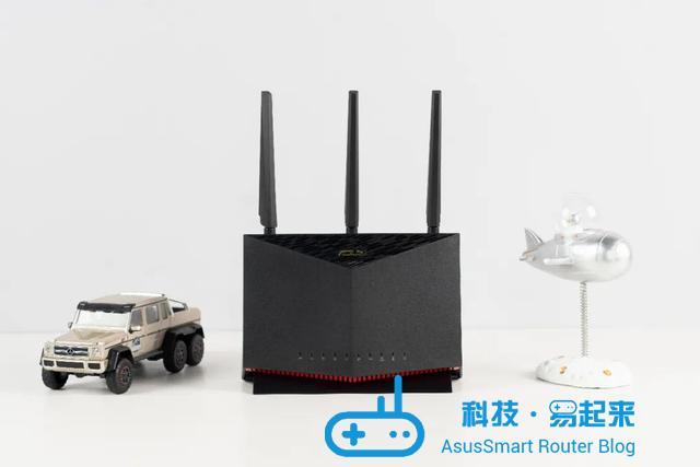 全面进化之作!体验不一样的WiFi6电竞路由华硕RT-AX86U