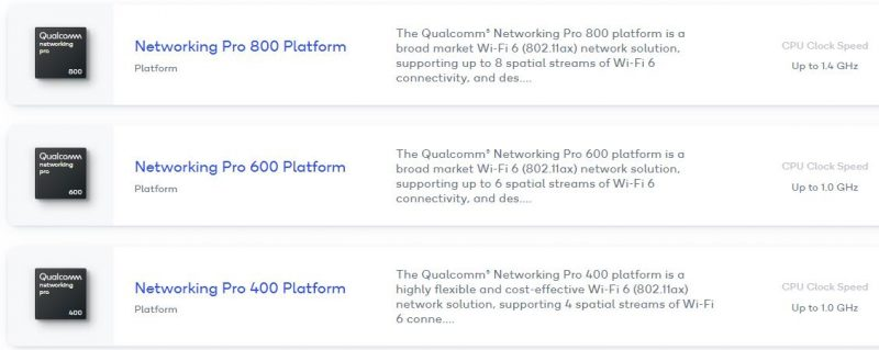 Networking Pro 800 Platform