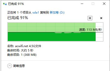 USB 读速