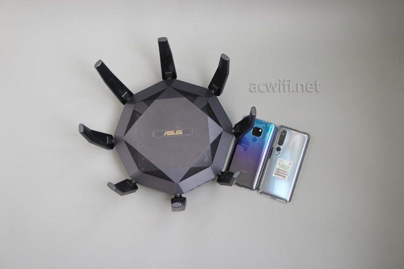 我的华硕AX89X 160频宽和MU-MIMO问题,小米10测速