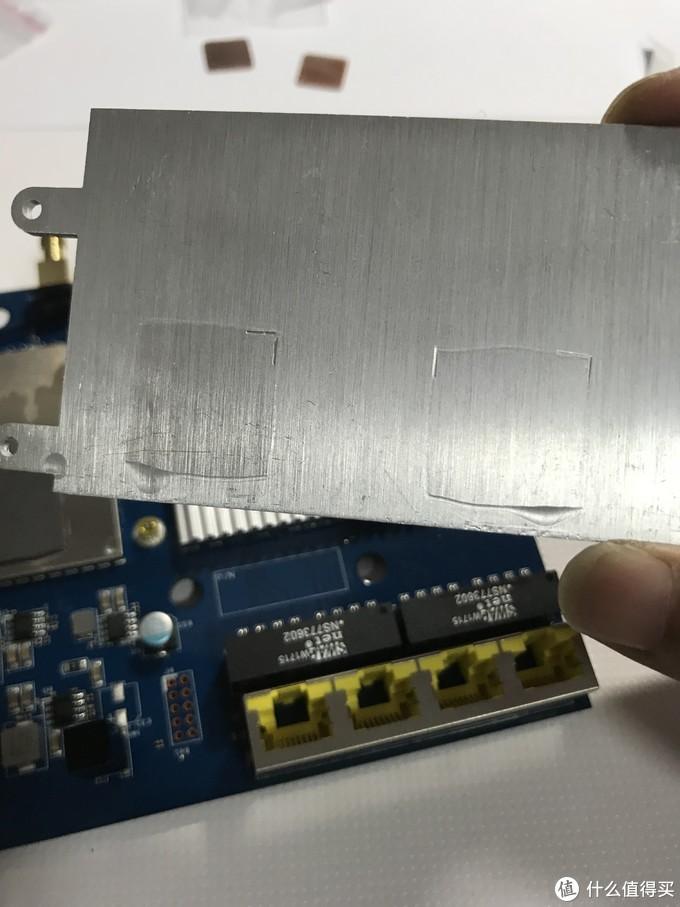ASUS 华硕 AC1900P 路由器被动散热改造