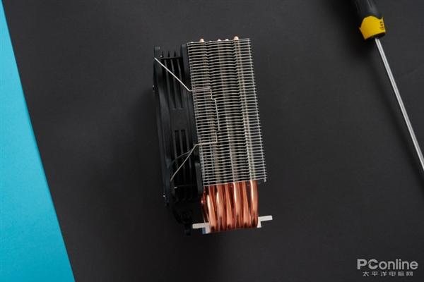 百元散热器直接上6根热管!航嘉冰封600R炫动版上手